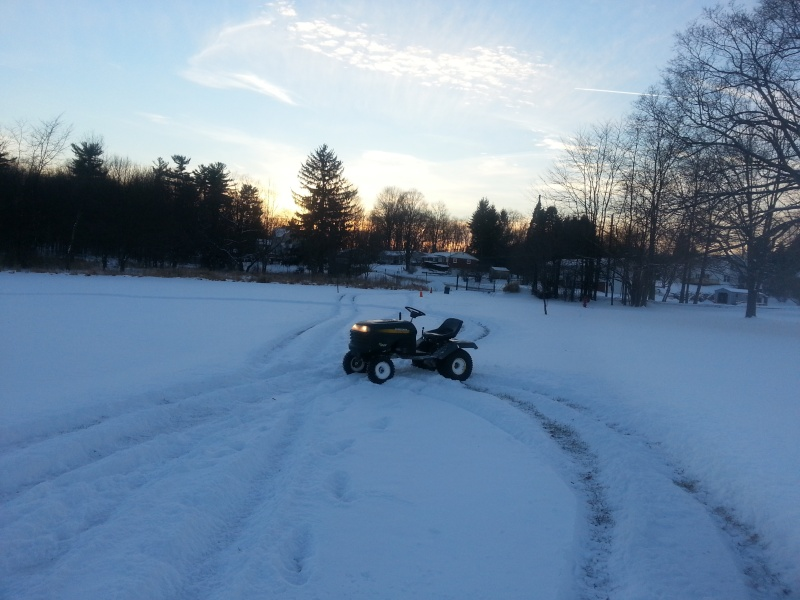 My Craftsman tractor + the build  20140114