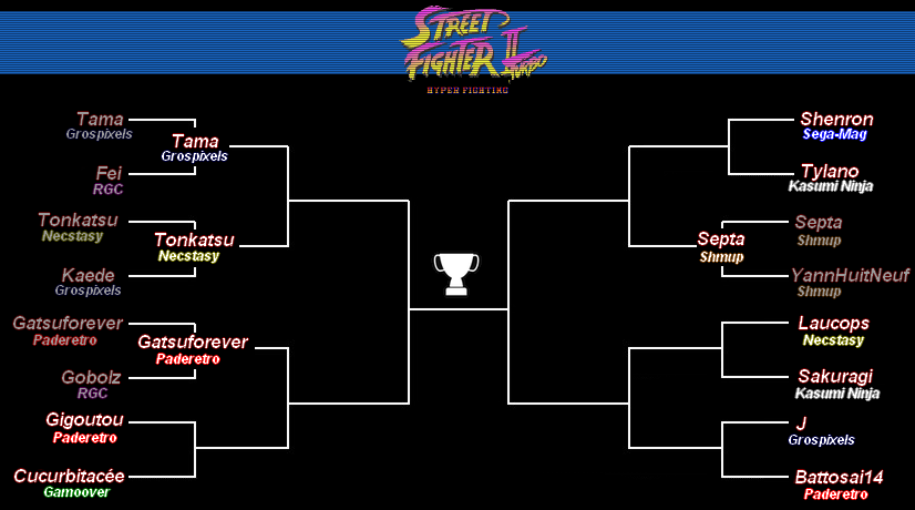 [Jeux Rétrolympiques 2014] Round 2 : Street Fighter II Turbo Super Nintendo Fights17
