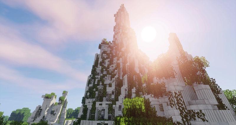 [Projet] Terminé ! Les Ruines de la Tour Blanche 5072d310