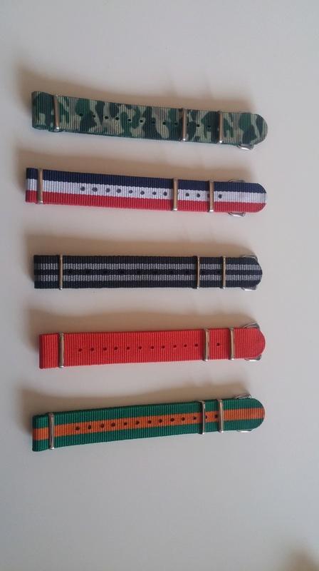 [Vends] Bracelets Nato 20170410
