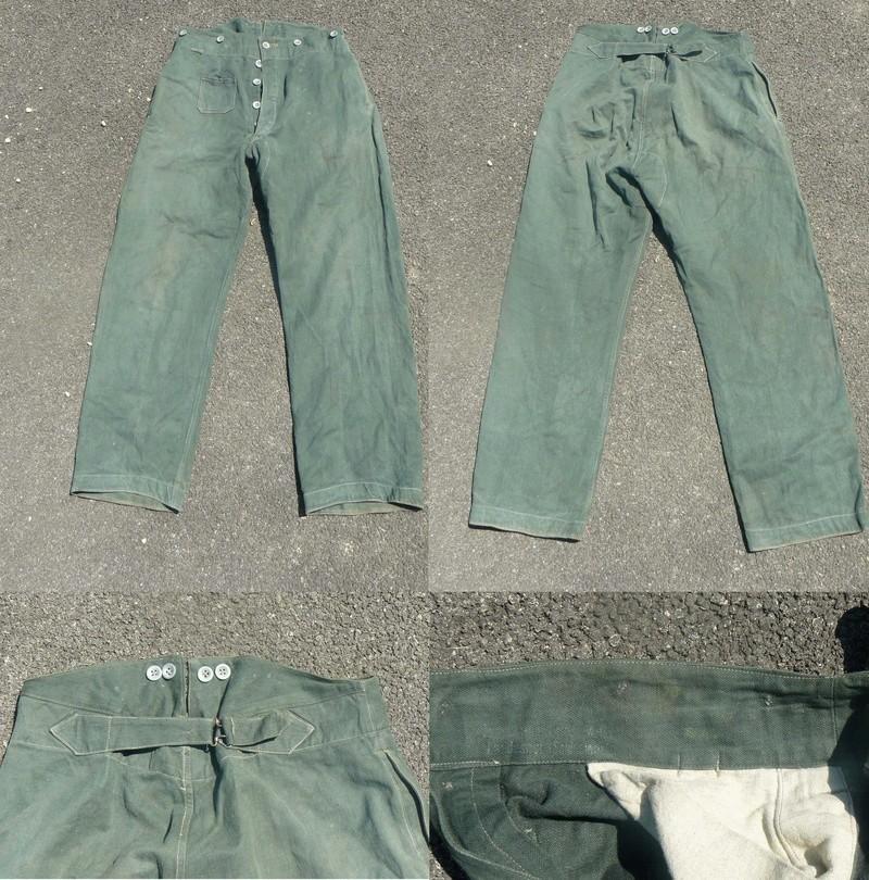 Pantalon de treillis WH 1er modele ! Pantal10