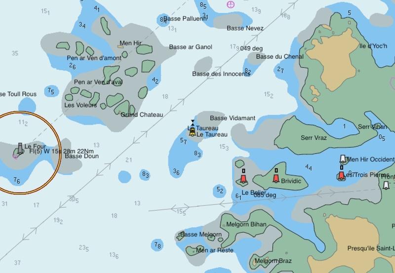 G fait un dessin avec GG et G navigué tout autour de la Bretagne ! Four10