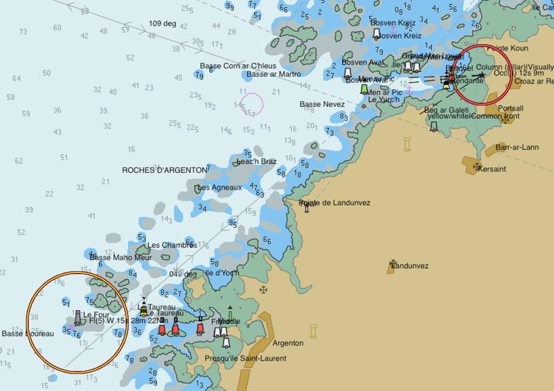 G fait un dessin avec GG et G navigué tout autour de la Bretagne ! Pilot210