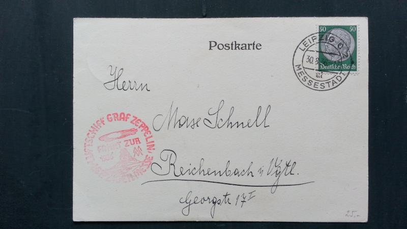 Alte Zeppelinpost gefunden, benötige Hilfe von Experten 20140316