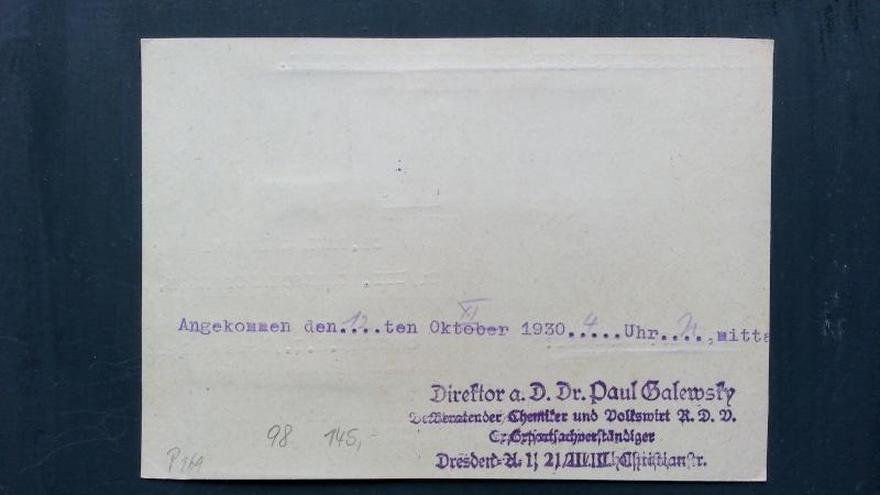Alte Zeppelinpost gefunden, benötige Hilfe von Experten 20140318