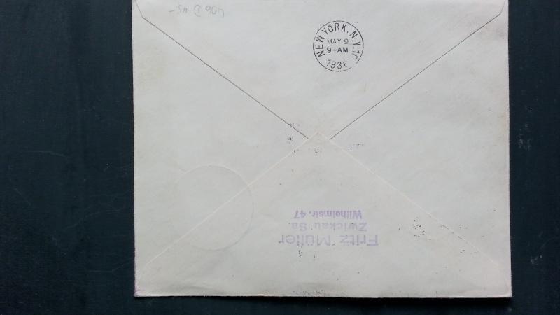 Alte Zeppelinpost gefunden, benötige Hilfe von Experten 20140321