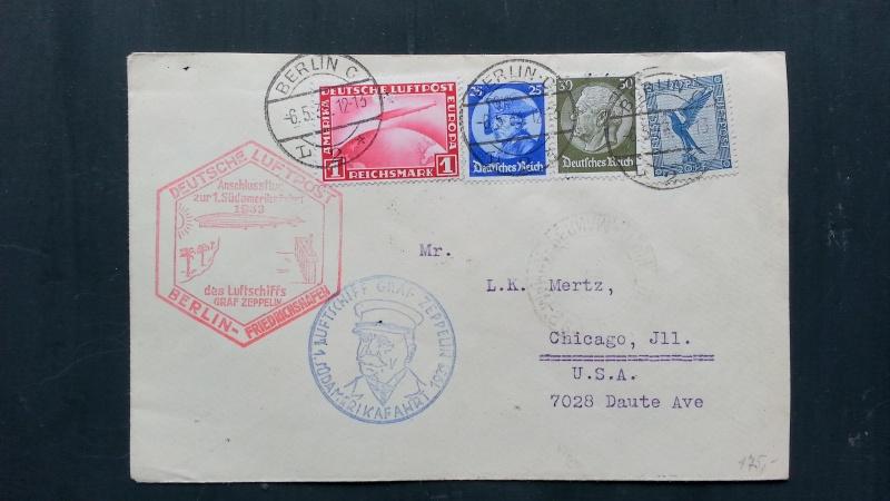 Alte Zeppelinpost gefunden, benötige Hilfe von Experten 20140323