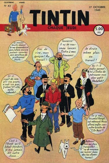 Couvertures d'albums - Page 3 Tintin10