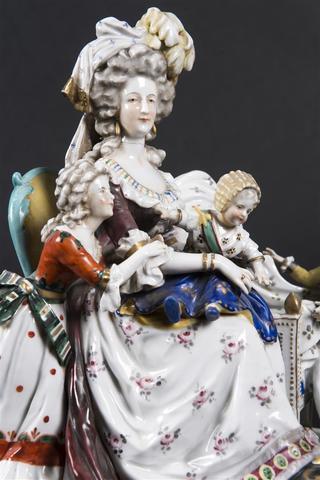 Déclinaisons faites d'après le portrait de Marie Antoinette et ses enfants de Vigée Lebrun 14220110