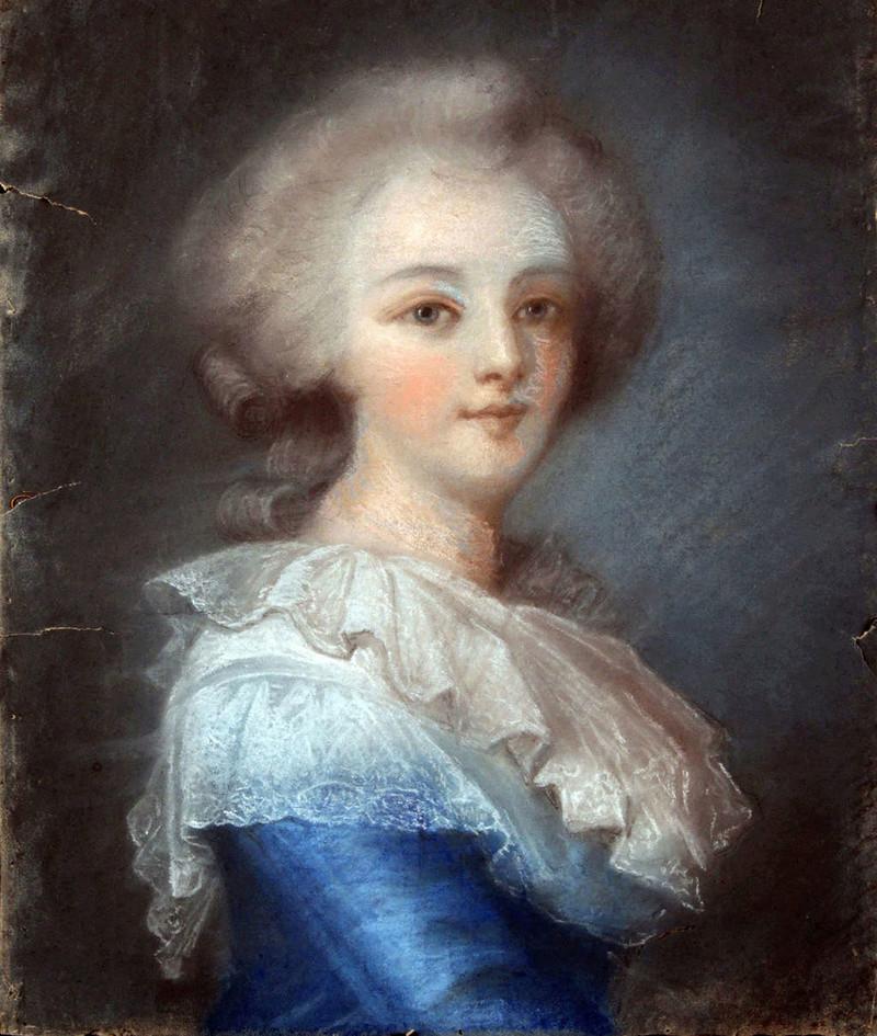 Le premier portrait de Marie Antoinette peint par Vigée Lebrun? - Page 3 14895111