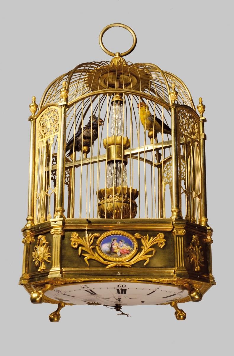Les pendules cages et oiseaux automates du XVIIIe siècle - Page 2 Ddoc-210