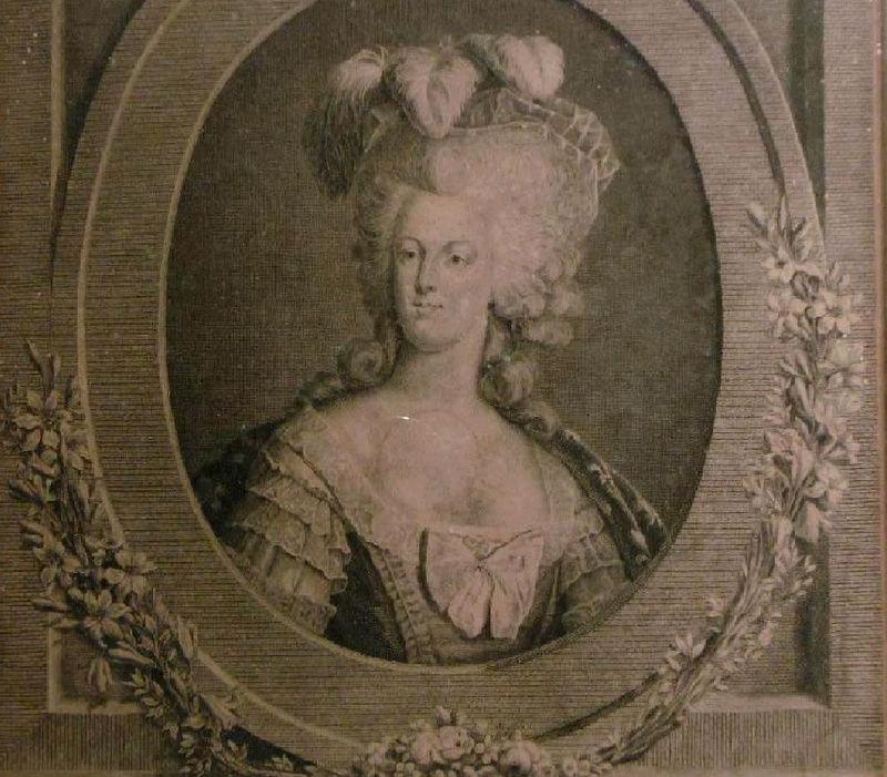 Portrait de la Reine Marie-Antoinette par Joseph Boze - Page 4 Zzclau25