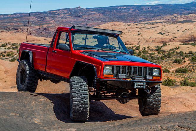 News: Hard Body Jeep Comanche MJ 001b-j10