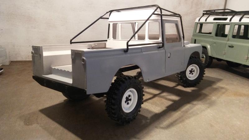 Land 109 a2 pickup Adventure 20170524