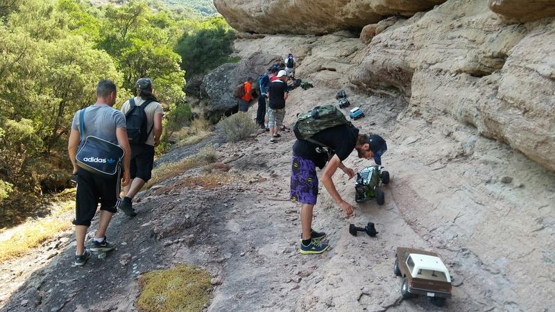 Sortie sur le rocher de Roquebrunne 83 20170628