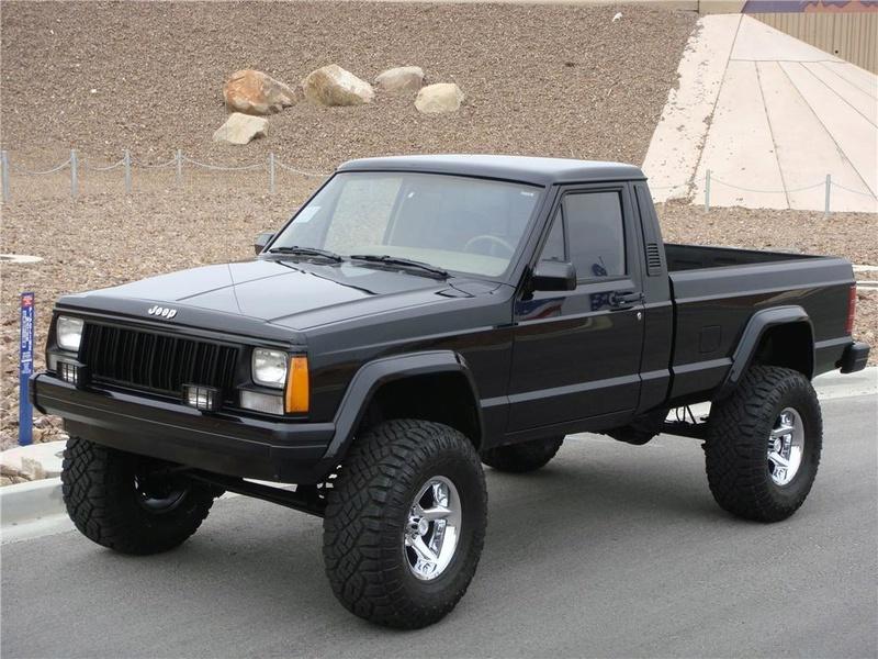 News: Hard Body Jeep Comanche MJ 36878210