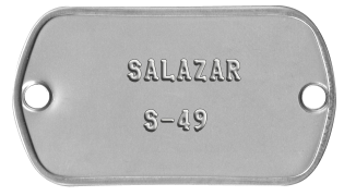 Salazar - Röyhkeä upseeri.  590cc710