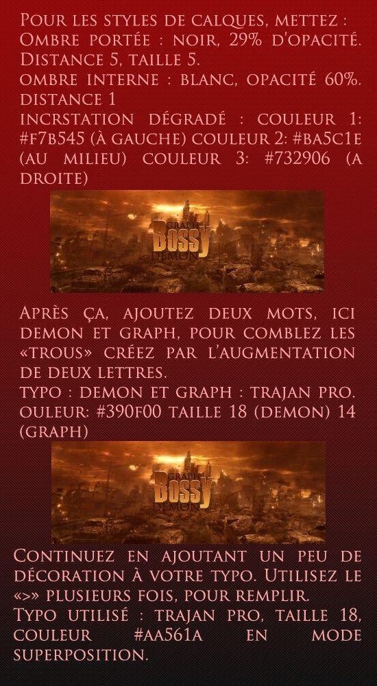 Typographie [Photoshop] Partie11