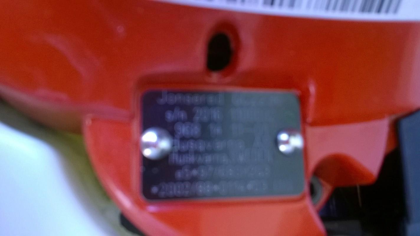 Jonsered GC 2236 appena acquistato - strano rumore e vibrazione in partenza - Pagina 4 Wp_20112
