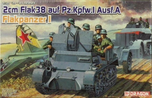 2cm flak38 auf Pz.Kpfw I [ 1/35° de Dragon] _5810