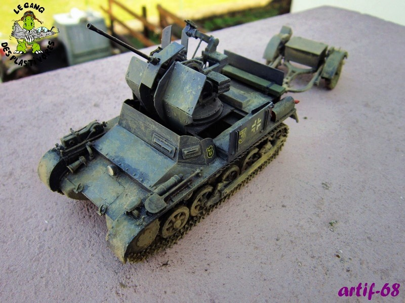 2cm flak38 auf Pz.Kpfw I [ 1/35° de Dragon] Img_5526