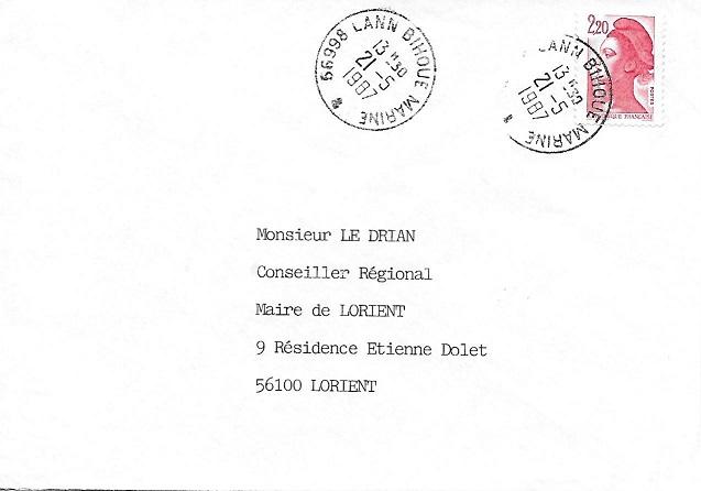 LANN-BIHOUE - MARINE 20610