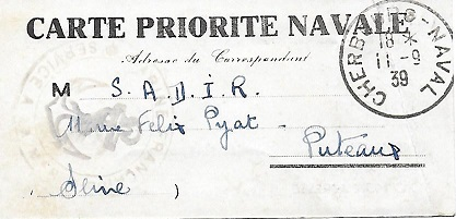 NAVAL - Bureau Naval N° 17 de Cherbourg Cherbo10