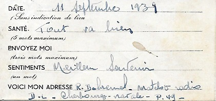 NAVAL - Bureau Naval N° 17 de Cherbourg Cherbo11