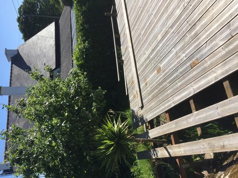 Terrasse en bois d'arbre Img_5727