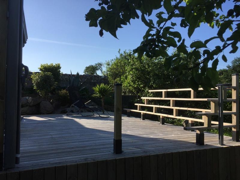 Terrasse en bois d'arbre Img_5810