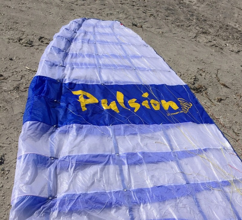 [Vendu] rare :  PULSION 15m complète tissus léger quasi neuve _ 1600€ Pulsio11
