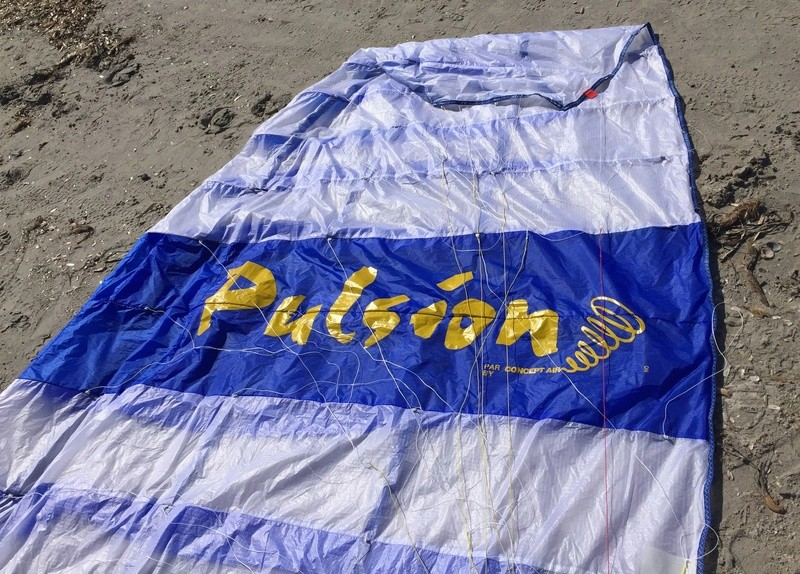 [Vendu] rare :  PULSION 15m complète tissus léger quasi neuve _ 1600€ Pulsio14
