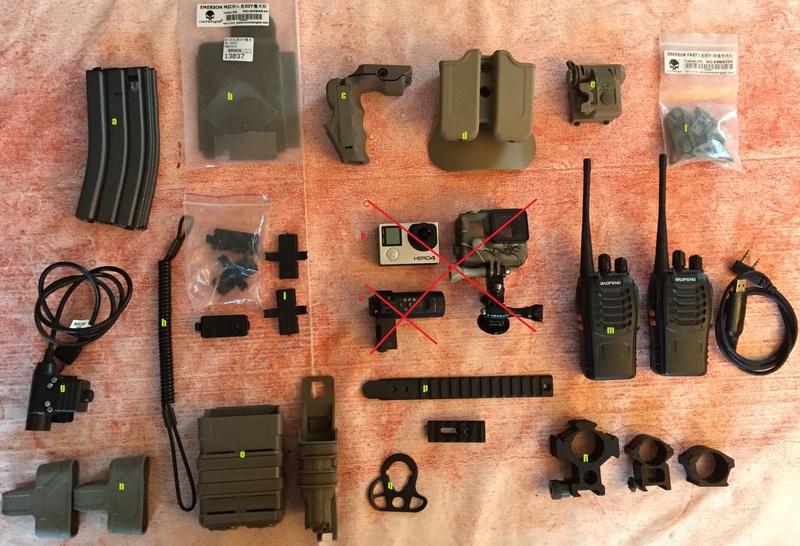 VENTE répliques, gear et accesoires Photo_12