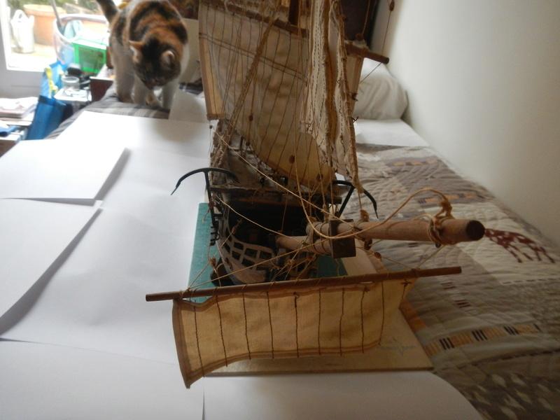 Maquette Voilier du XVIIIème siècle à réparer ! par Glénans Dscn5512