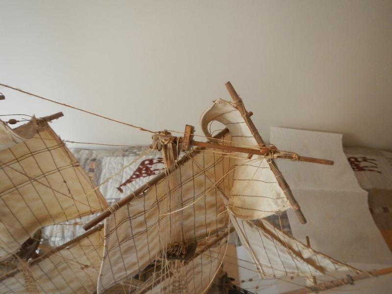 Maquette Voilier du XVIIIème siècle à réparer ! par Glénans Dscn5513
