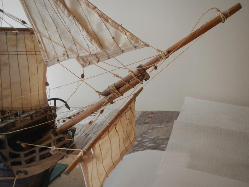 Maquette Voilier du XVIIIème siècle à réparer ! par Glénans Dscn5516