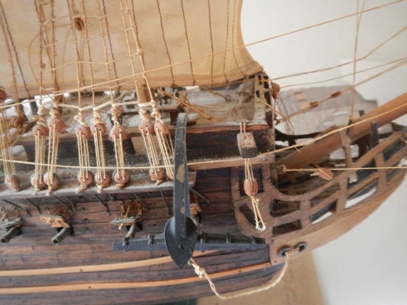 Maquette Voilier du XVIIIème siècle à réparer ! par Glénans Dscn5517