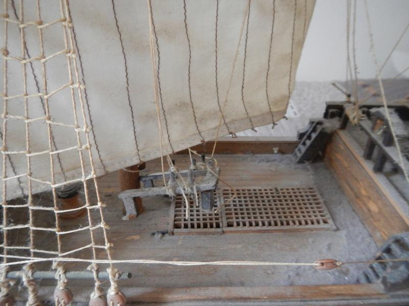 Maquette Voilier du XVIIIème siècle à réparer ! par Glénans Dscn5518