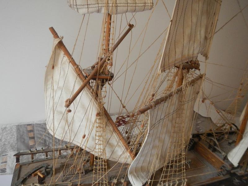 Maquette Voilier du XVIIIème siècle à réparer ! par Glénans Dscn5520