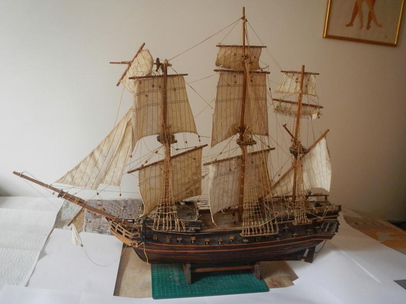 Maquette Voilier du XVIIIème siècle à réparer ! par Glénans Dscn5521