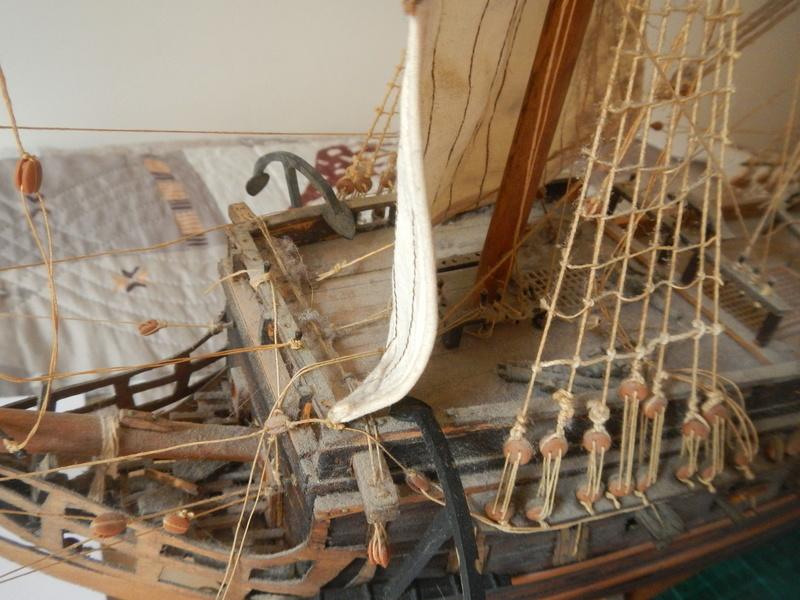 Maquette Voilier du XVIIIème siècle à réparer ! par Glénans Dscn5522