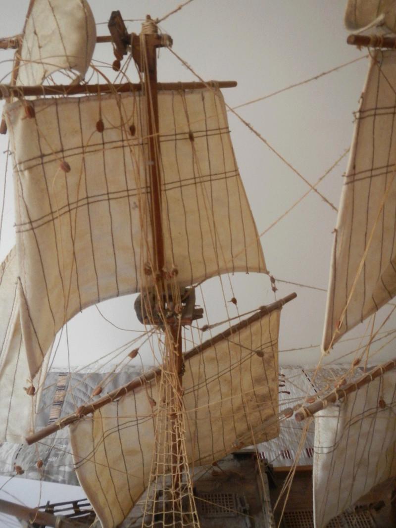 Maquette Voilier du XVIIIème siècle à réparer ! par Glénans Dscn5523