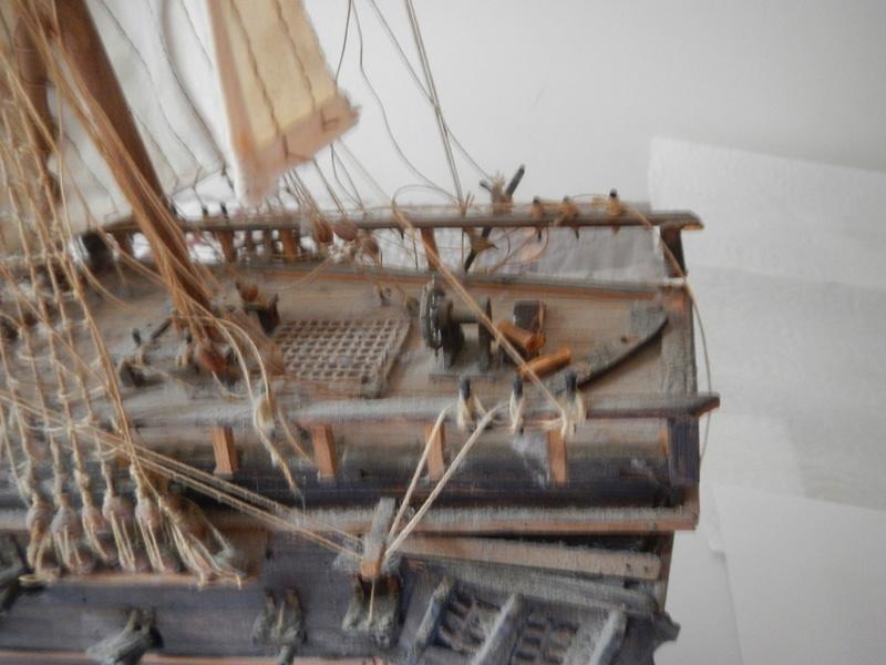 Maquette Voilier du XVIIIème siècle à réparer ! par Glénans Dscn5527