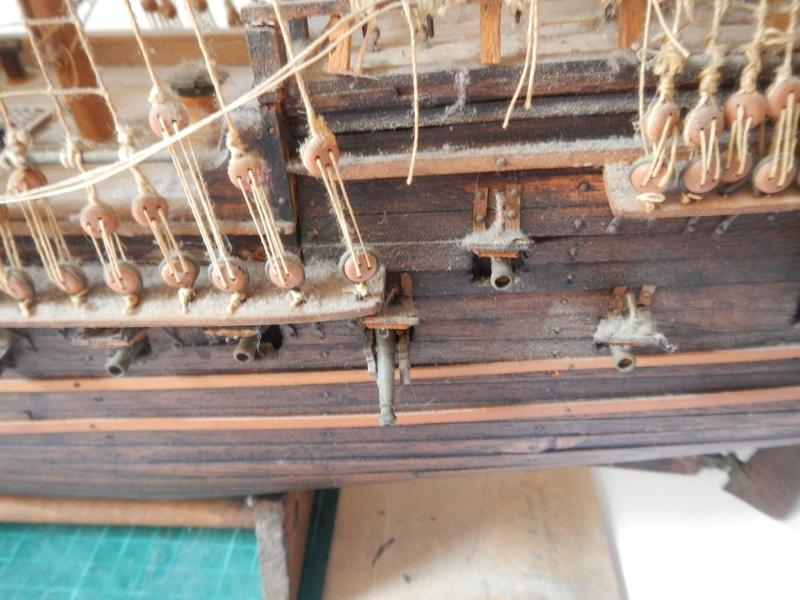 Maquette Voilier du XVIIIème siècle à réparer ! par Glénans Dscn5528