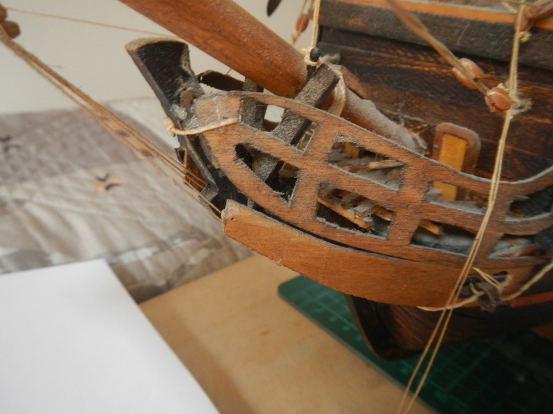 Maquette Voilier du XVIIIème siècle à réparer ! par Glénans Dscn5529