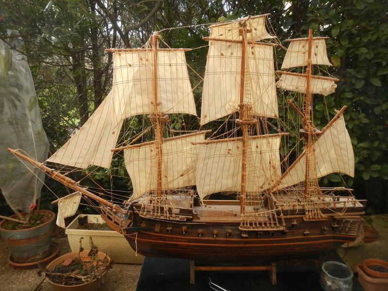 Maquette Voilier du XVIIIème siècle à réparer ! par Glénans Dscn5531