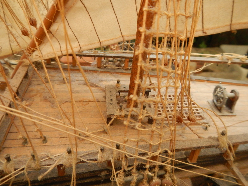 Maquette Voilier du XVIIIème siècle à réparer ! par Glénans Dscn5534