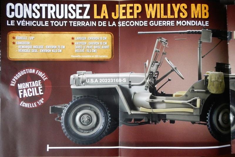 Jeep Willys - 1/8ème - Ed. Hachette - Construction par Glénans (Partie 1) Dscn5549