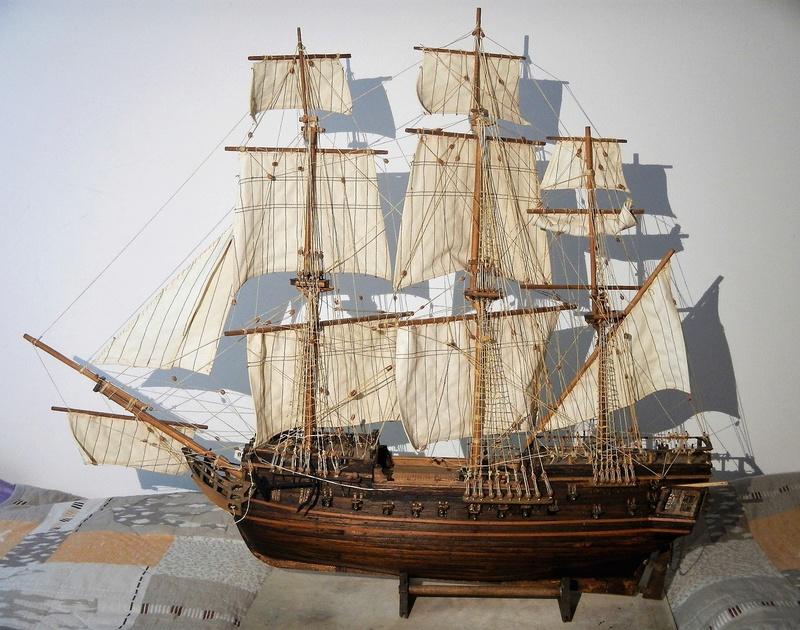 Maquette Voilier du XVIIIème siècle à réparer ! par Glénans Dscn5783