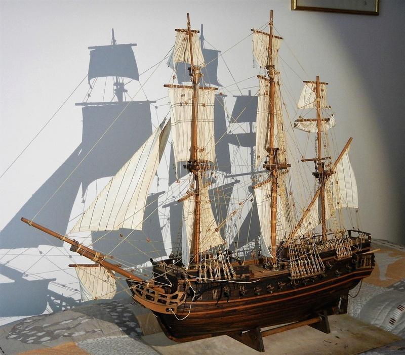 Maquette Voilier du XVIIIème siècle à réparer ! par Glénans Dscn5784